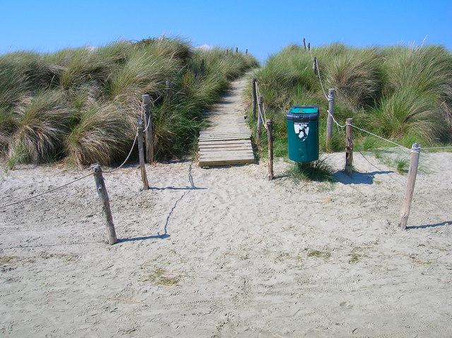 Footpath across the Dunes, East Head