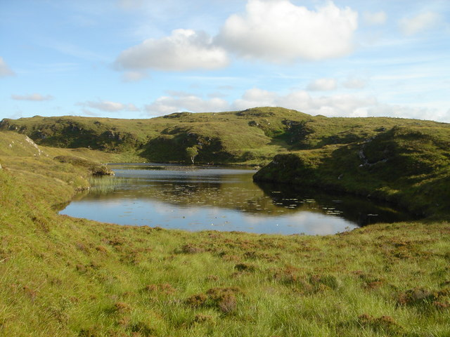 A Loch on the Little Assynt Estate