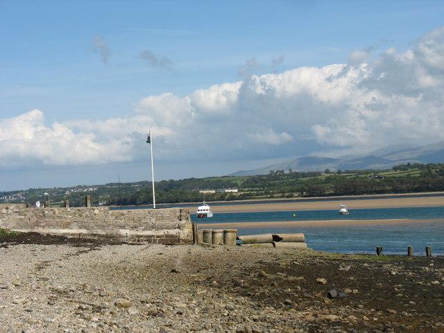 The old Tal-y-Foel Ferry Pier.