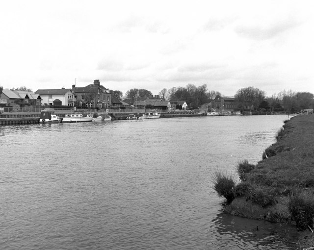The riverside at Abingdon, River Thames