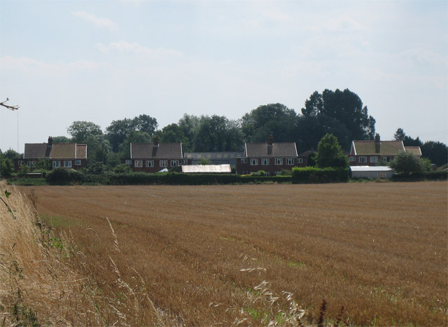 Houses overlooking farmland in north of Beeston
