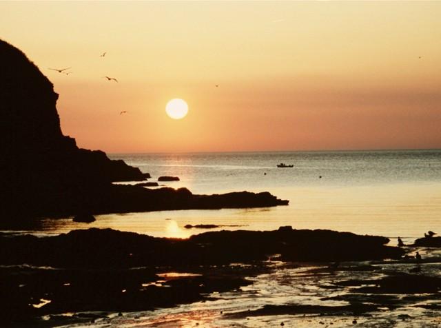 Sunset at Port Gaverne