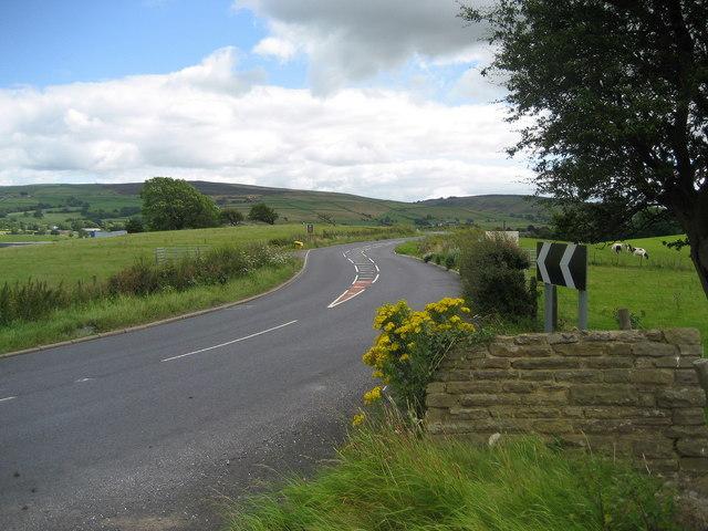 A56 near Earby