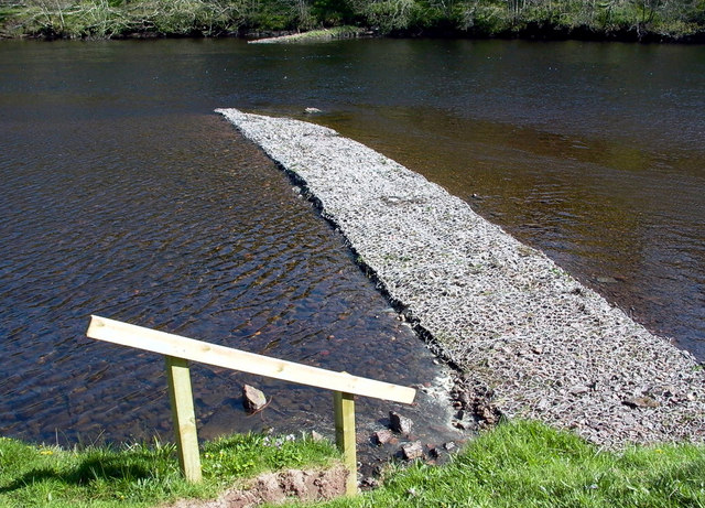 Salmon Cruives or Croys on the Beauly River