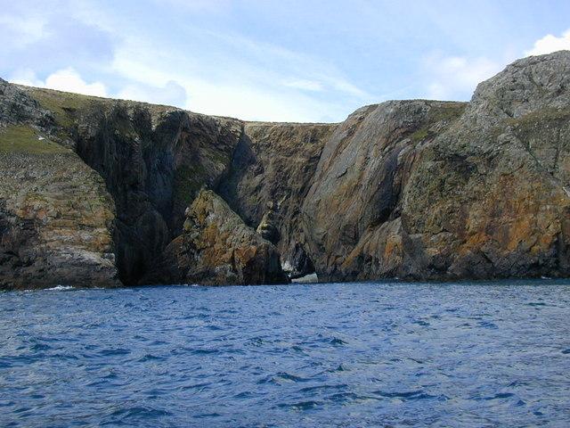 Porth Lleuog, Ramsey Island