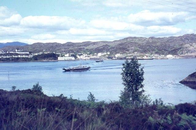 The Kyleakin ferry