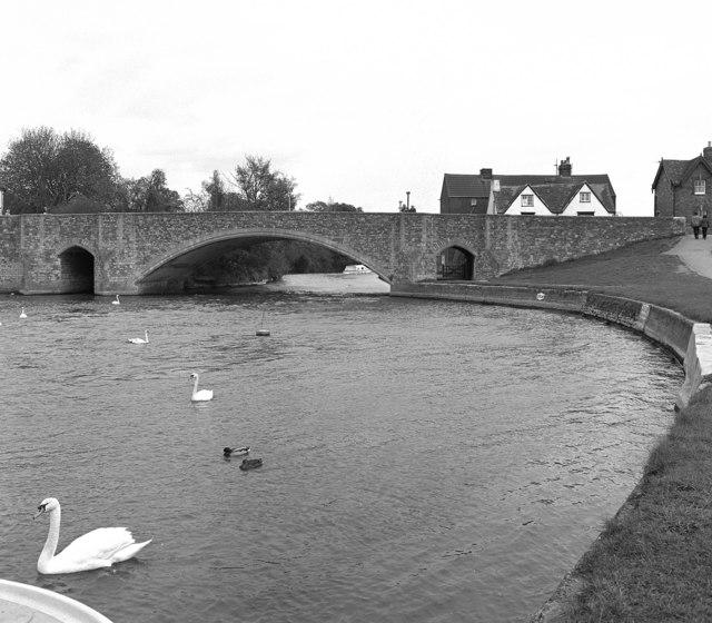 Burford Bridge, Abingdon, River Thames