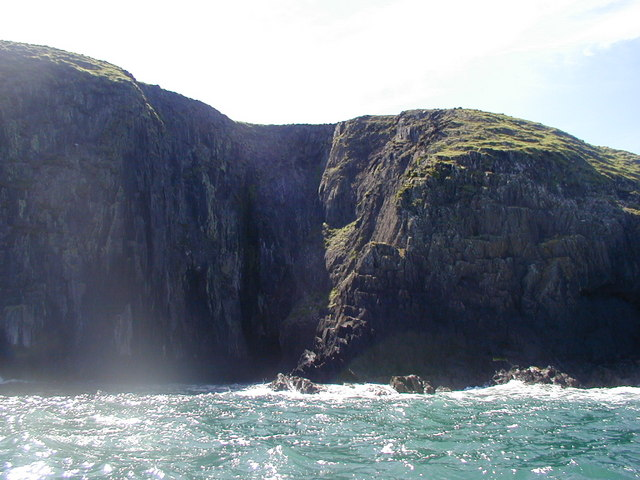North coast of Ramsey Island
