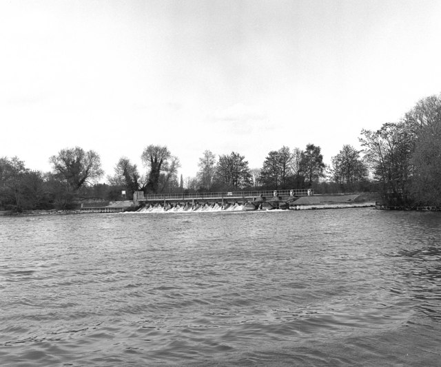Abingdon Weir, River Thames