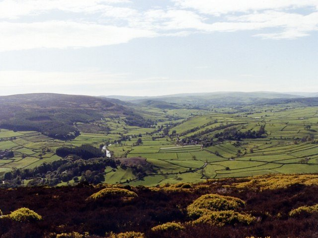 Wharfedale from Simon's Seat