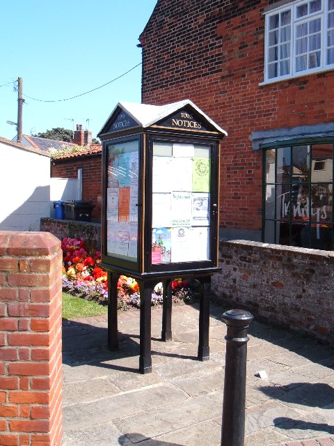 Southwold town notices