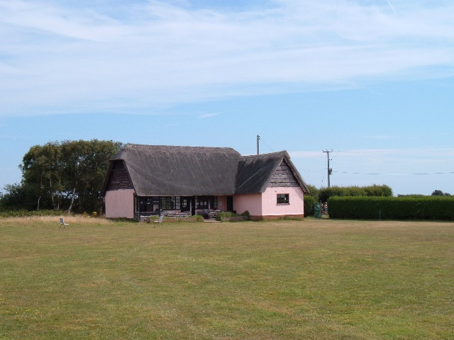 Thorpeness Cricket Club pavilion