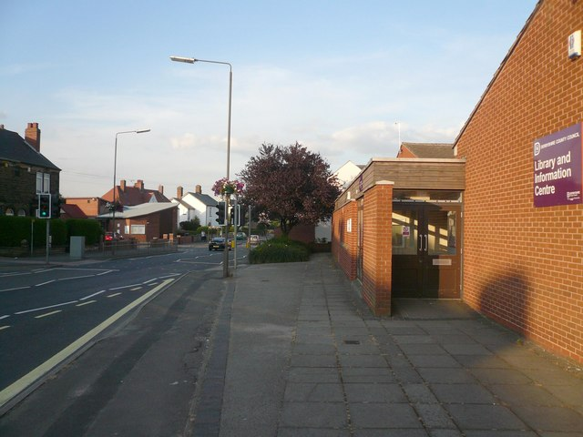 Holmewood - Entrance to Library and Information Centre