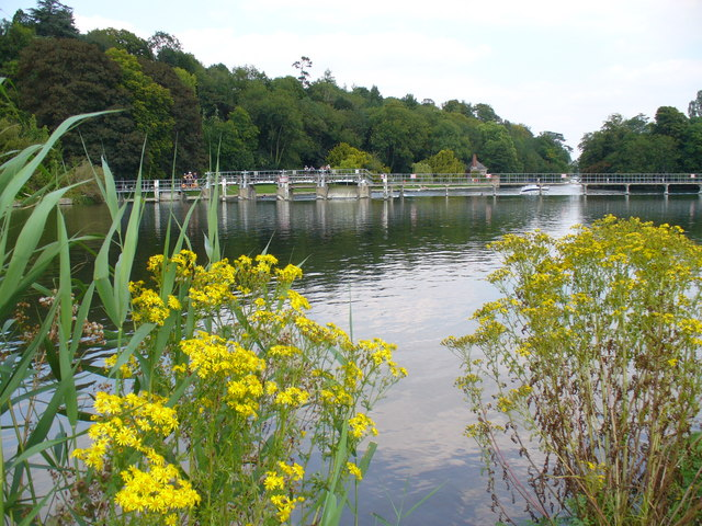 Thames at Hurley Weir