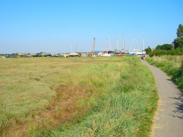 Shipyard, West Itchenor