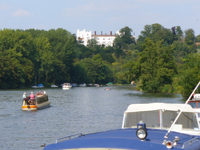 River Thames Above Danesfield