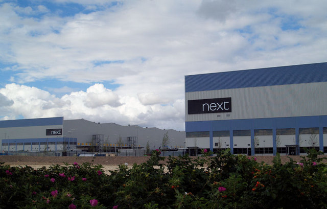 Next warehouses the biggest in Europe.