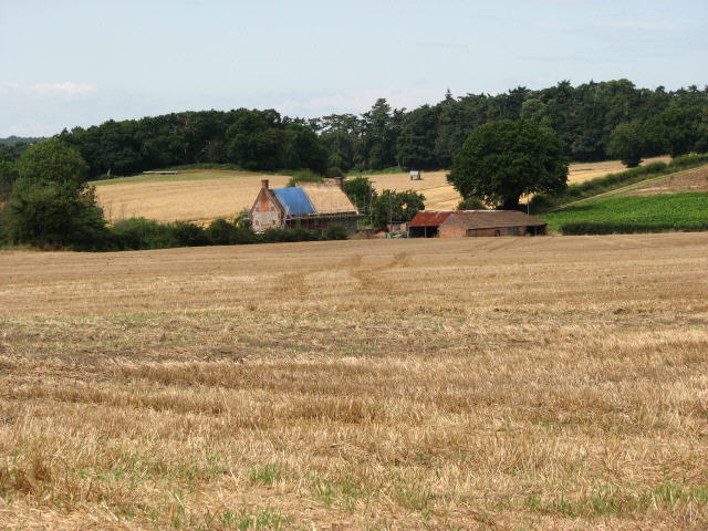 View to Common Corner Farm