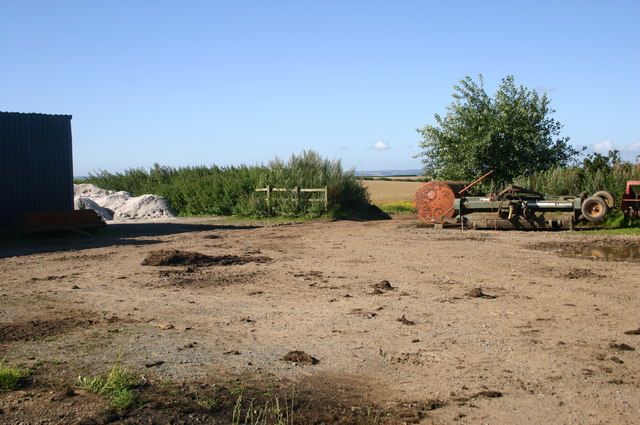 Farm yard on Buttercombe lane