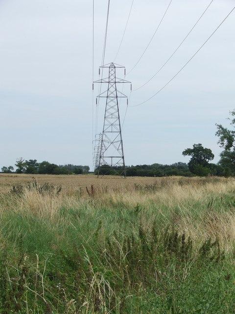 Power Lines Near Ashbocking