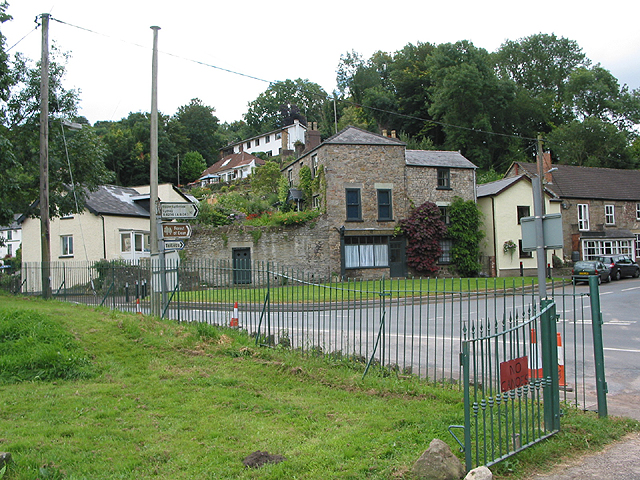 Road junction at Lower Lydbrook