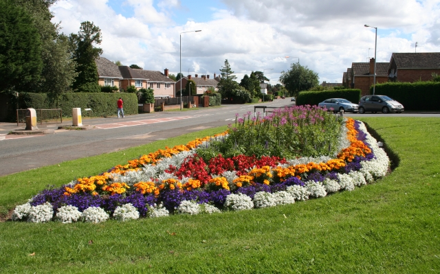 Floral Display, Hallow Road,/Monarch Drive Junction