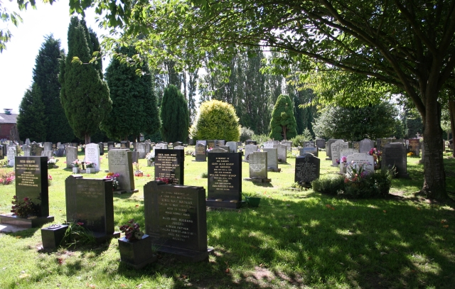 Cemetery, St Johns, Worcester