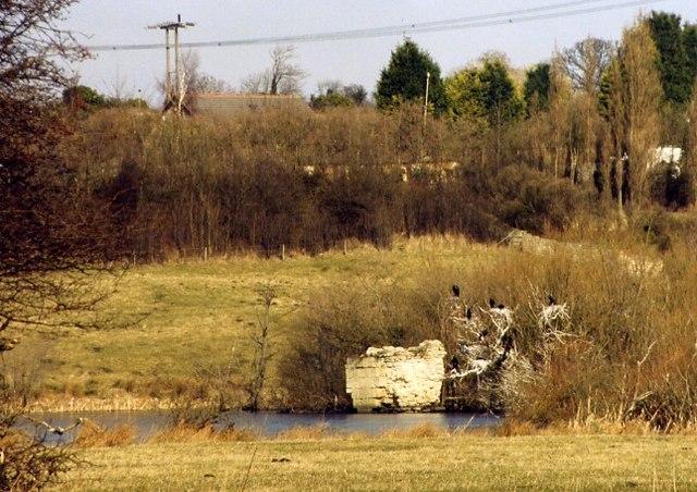 Newton Priory ruins