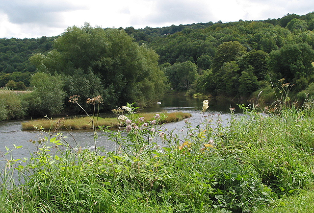 Small island in the Wye...