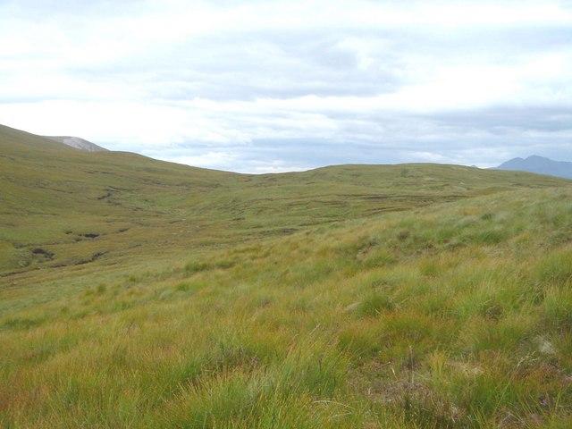 Col west of Beinn nan Cnaimhseag