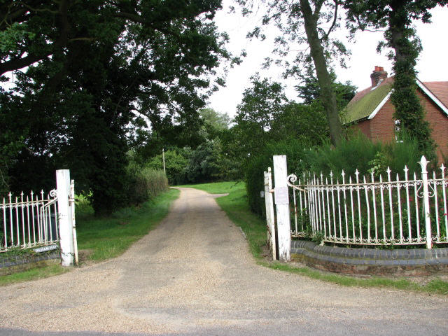 Entrance to Dilham Hall