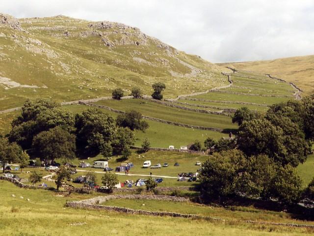 Gordale campsite