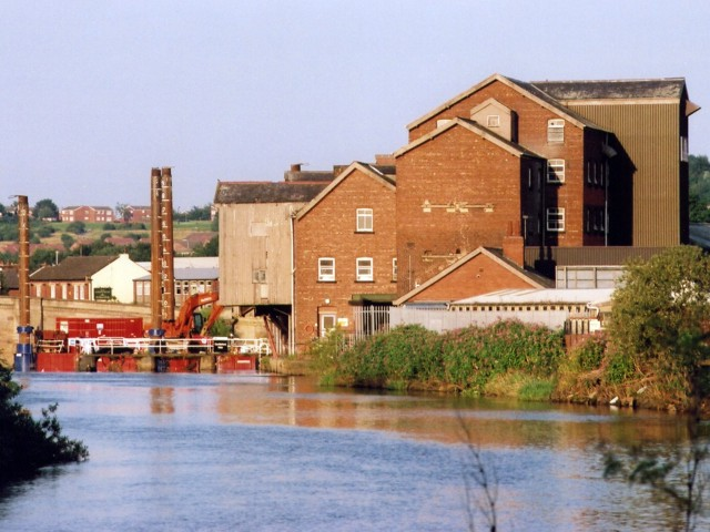 Allinsons flour mill, Castleford
