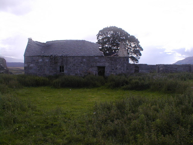 Ruined Farm Building at Ballachroan