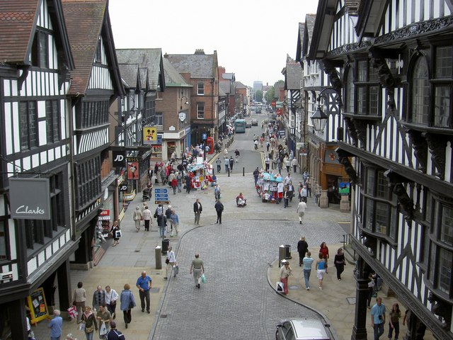 Foregate Street, Chester, Cheshire