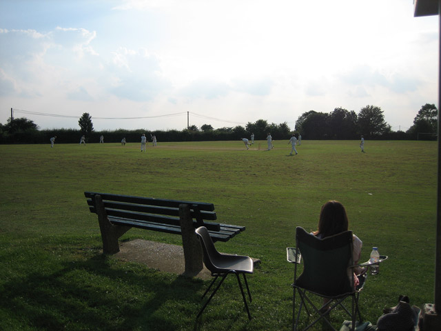 Cricket match at North Elmham
