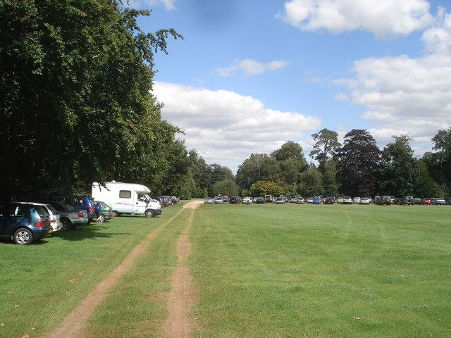 Car park at Bowood