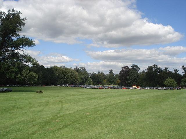 Car park field at Bowood