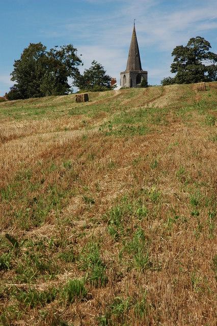 Tanworth-in-Arden church spire