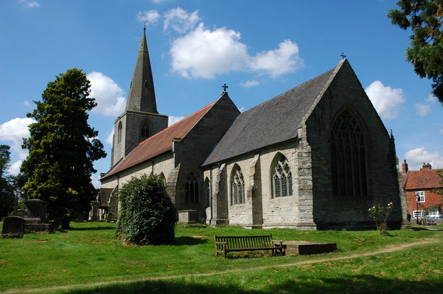 Tanworth-in-Arden church
