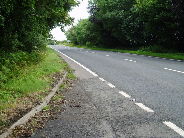 A75 Gretna-Stranraer Road near Carsluith.