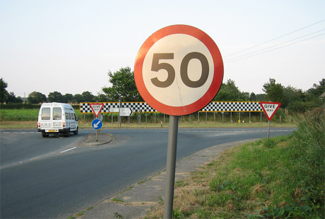 Stop at 50 miles an hour: B1145 meets A1067