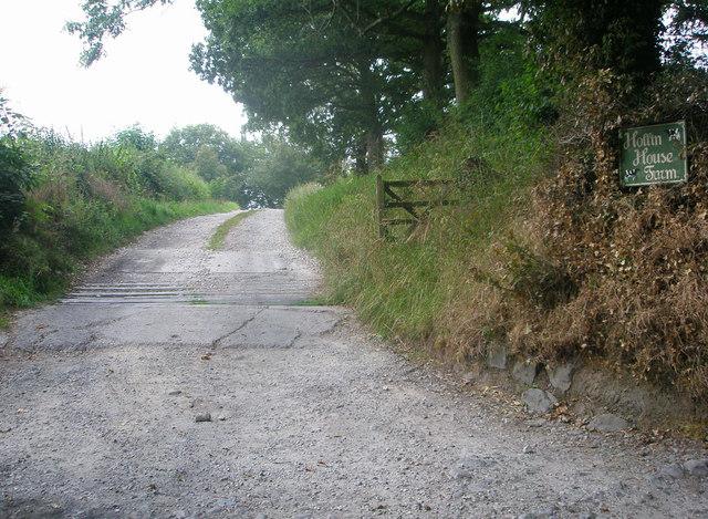 Hollin House Farm track