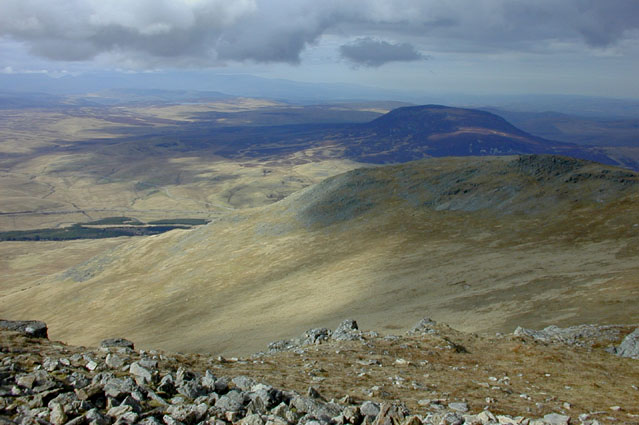 View north from Arenig Fawr
