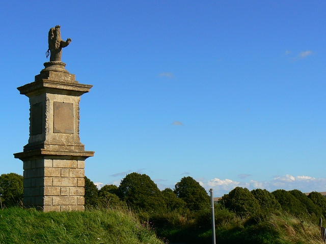 Monument to James Long, A342, south-east of Devizes