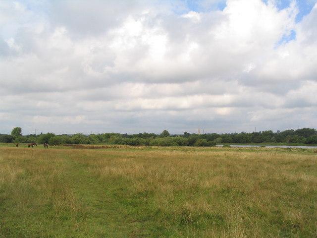 Path towards Asfordby
