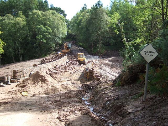 Building Work on the new Quebec Bridge