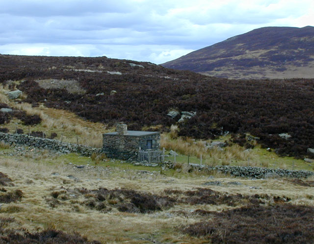 Bothy by the dam