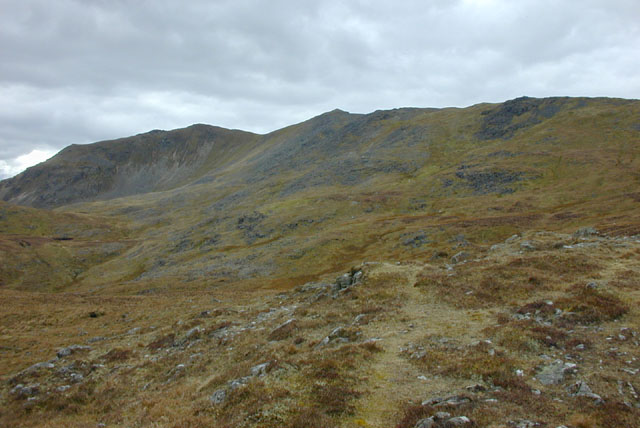 Approaching the main ridge of Arenig Fawr
