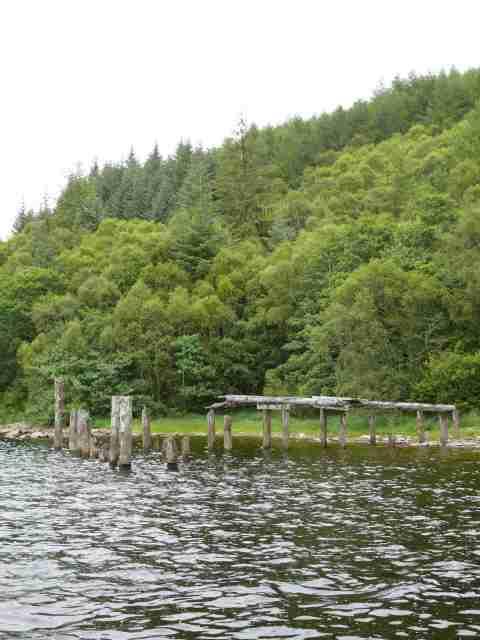 Polloch old pier